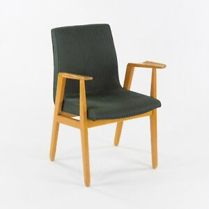 C. 1946 Rare Ralph Rapson for Knoll Associates Dining / Side Arm Chair in Birch