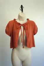 Anthropologie Guinevere Shrug Tie Cardigan Sweater Top Wrap Size Medium Small
