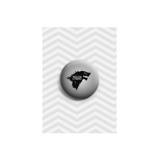 Winter is Coming TV Wolf Snow Plastic Button Pin Badge Gift 38mm