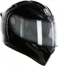 Casco helmet Integrale AGV Full-Face K1 Solid Black Nero lucido Taglia XL