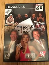 WORLD POKER TOUR - PS2 - COMPLETE W/MANUAL - FREE S/H (N)