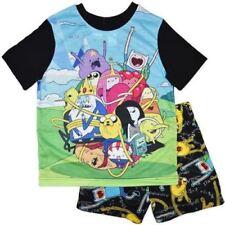 Adventure Time Cotton Pajama Sets for Boys