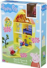 Peppa Pig 06156 Peppa's House and Garden Playset