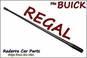 "FITS: 1982-2004 Buick Regal - 13"" SHORT Custom Flexible Rubber Antenna Mast"