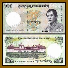 Bhutan 100 Ngultrum, 2011 P-32 Unc