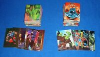 1992 (100) CARDS & 1993 (90) CARDS MARVEL MASTERPIECES BASE SETS & SUB SETS