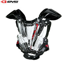 EVS VEX ADULT MEDIUM BODY ARMOUR CHEST PROTECTOR CLEAR MX MOTOCROSS ROOST GUARD