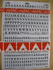 1 x Alfac (like Letraset) Century Old Style Bold 9mm 0.354inch 36pt ref 15809