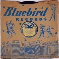 JESSE RODGERS: San Antonio Blues BLUEBIRD Kama Moana Hawaiaans 78 HEAR