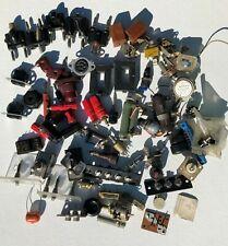 Vintage Electronics Parts Lot Radio Tv Stereo Capacitors Transistors More