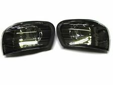 Black Smoke Side Corner Light Lamp  For 92-00 SUBARU IMPREZA WRX STI GC8
