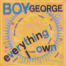 "7"" 45 TOURS ALLEMAGNE BOY GEORGE ""Everything I Own / Use Me"" 1987 REGGAE/POP"