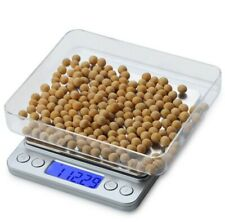 0.1-3000g Pocket Digital Scale Jewellery Gold Weighing Mini LCD Electronic Scale