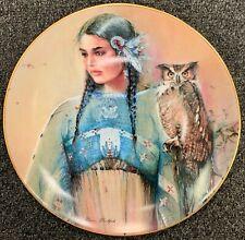 FRANKLIN MINT assiette porcelaine édition limitée PRINCESS OF WISDOW - INDIEN