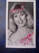 Hilary O'Niel   - Autograph (BC2)  3.5 x 5.5    inch