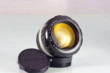 CLASSIC LENS NIKKOR NIPPON KOGAKU 55 55mm F1.2 Nikon F F2 Nikkormat EXCELLENT