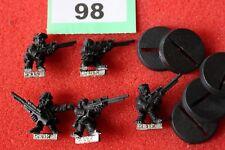 Juegos taller Warhammer 40k Guardia Imperial Ratlings francotiradores x5 escuadrón metal fuera de imprenta