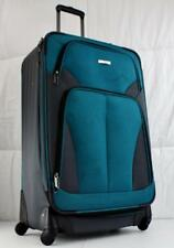 """TRAVEL SELECT ALLENTOWN 27"""" SPINNER SUITCASE TEAL USED"""
