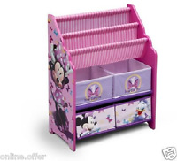 Toy Box Disney Minnie Mouse Book And Toys Organizer Bookshelf Books Pink Kids