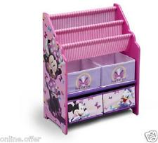 Toy Box Disney Minnie Mouse Book And Toys Organizer Bookshelf Books Pink Kids