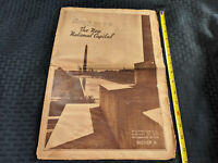 1937 Washington D.C. Daily News National Capitol Monument Building VTG Antique