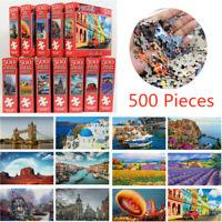 500 Pieces Educational Jigsaw Puzzle Animal Landscape Adult Puzzles Kids Toy==