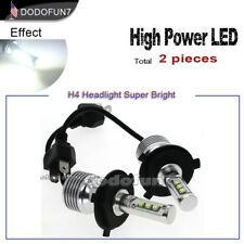 1set H4 HB2 9003 LED Headlight High and Low Beam Kit  6000K White 80W 8000LM