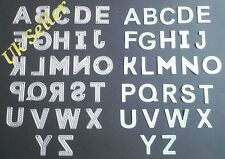 Cutting Dies Stitch Letters A-Z Alphabet And Number Set Big Shot Card Making
