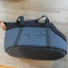 Hobbydog - Transport Bag For Dogs & Cats - Graphite & Black - Size:R2/27x25x43cm