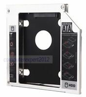 2nd HDD SSD Hard Drive Caddy Adapter for HP Pavilion DV6 DV6-7030TX dv6-6b54er