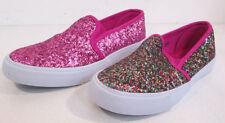 Chaussures décontractées rose à enfiler pour fille de 2 à 16 ans