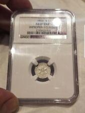1853 3CS Cent Silver Coin NGC AU Details