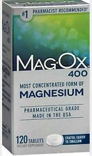 MagOx 400 Magnesium Dietary Supplement, 120 Tablets