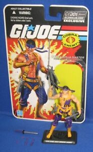 "GI Joe Night Creeper Leader 4"" Action Figure 2014 FSS 3 Club Exclusive Complete"