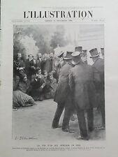 L' ILLUSTRATION 1906 N 3330 ENTERREMENT DE BEHANZIN, ANCIEN ROI DU DAHOMEY