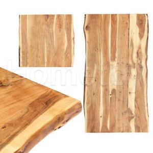 Massivholz Tischplatte Baumkante Massivholzplatte Akazie Holzplatte Tisch massiv