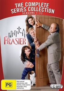 FRASIER - THE COMPLETE SERIES SEASONS 1-11 DVD BOX SET Region 4/Aus 44 DISCS