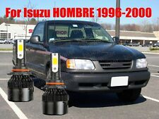 Led For Hombre 1996 2000 Headlight Kit 9006 Hb4 6000k White Cree Bulbs Low Beam