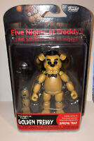Funko FNAF Five Nights at Freddy's Golden Freddy Fazbear Action Figure Toy