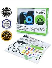 Pixplay Camera (Blue) - Turn Your Smartphone Into A Fun Kids' Camera