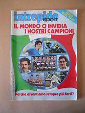 INTREPIDO SPORT n°39 1982 con Poster Michel Platini Anconetani Romeo [G631]