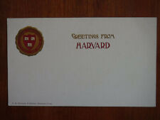 Harvard University College Seal Series, Cambridge Mass., Beautiful Card, 1905