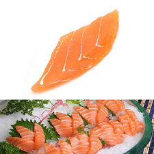 Top  FoodModel Japanese fake food - High Quality Salmon Sashimi Replica EV