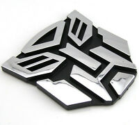 3D Logo Protector Autobot Stylish Transformers Badge  Graphics Decal Car Sticker