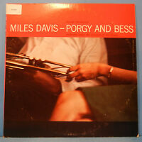 MILES DAVIS PORGY AND BESS VINYL LP 1958 RE '77 GIL EVANS GREAT COND! VG+/VG+!!