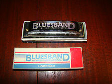 Bluesband Hohner International Harmonica - Used - With Box and Instruction