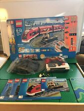 LEGO- CITY- TRAINS- PASSENGER TRAIN- 7938- USED- 100% COMPLETE WITH OPEN BOX