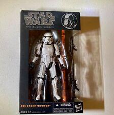 Hasbro Star Wars Series 9 Stormtrooper Figure Black Series Orange Line 6in