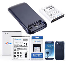 6000mAh Replacement Extended Battery + Back Cover For Samsung Galaxy S3 i9300