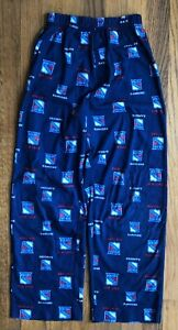 New York Rangers hockey NHL pajama pants youth size M (10/12)